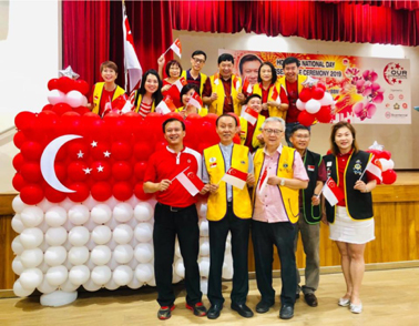 National Day Celebration for 500 people, 3 Generation Family at Hougang